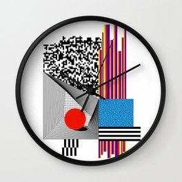 CITTY ISSUES 3 Wall Clock