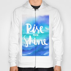 Rise And Shine - Collaboration by Jacqueline Maldonado and Galaxy Eyes Hoody