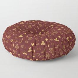 Gryffindor Pattern Floor Pillow