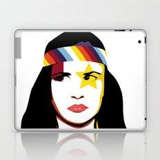 =Juliette Lewis///White= Laptop & iPad Skin