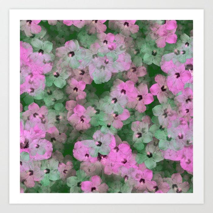 Floral Passion Art Print