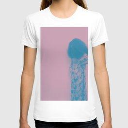 Afro Retro Moments Mauve & Teal T-shirt