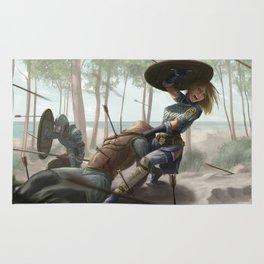 Loria into the Batle Rug