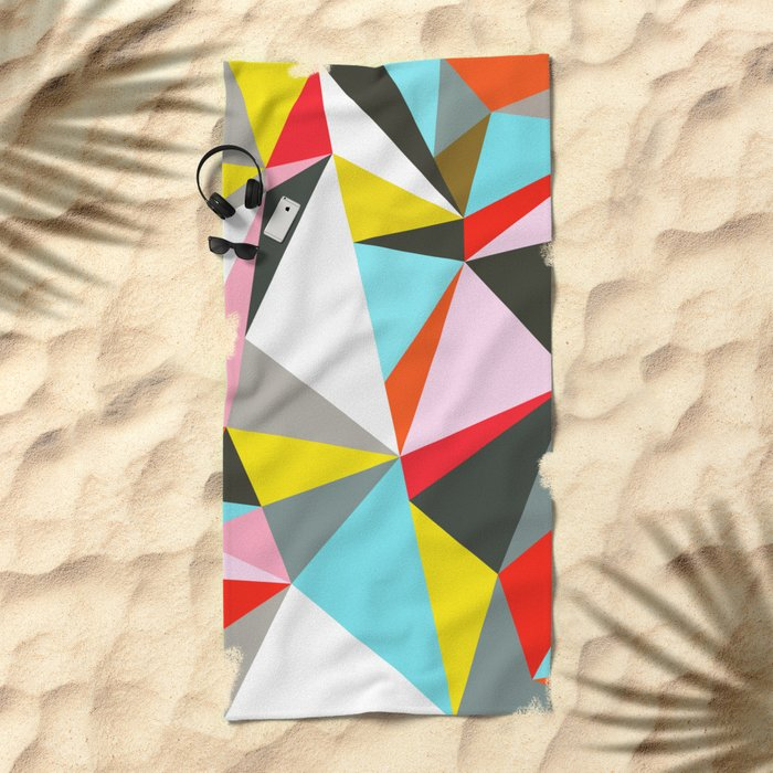 Mosaik Beach Towel