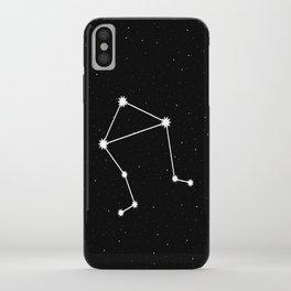 Libra Astrology Star Sign Night Sky iPhone Case
