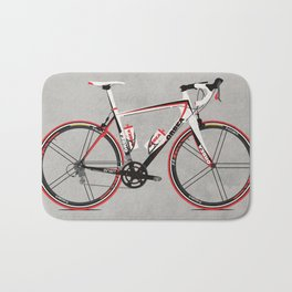 Race Bike Bath Mat