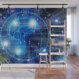 Artificial Intelligence Wall Mural