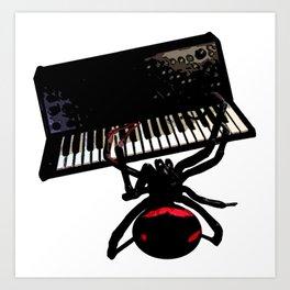 Spider Electro Techno House synthesizer II Art Print