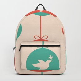 Pigeon Bird Pattern Ornament Decoration Backpack