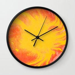 Abstract watercolor painting #12 Wall Clock