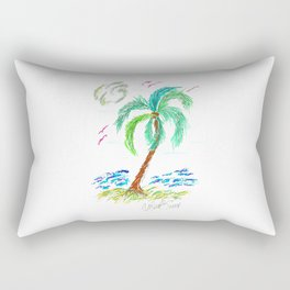 """Beach Afternoon"" Rectangular Pillow"