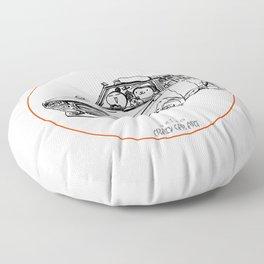Crazy Car Art 0186 Floor Pillow