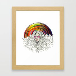 Taste the Rainbow Pt. 1  Framed Art Print