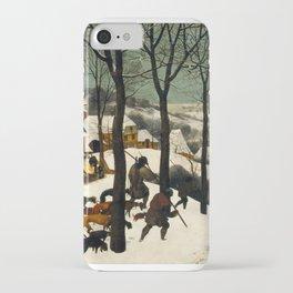 The Hunters in the Snow, Pieter Bruegel the Elder iPhone Case
