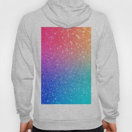 Glitter Rainbow Mermaid Sparkle Ombre Hoody