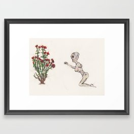 Passion needed Framed Art Print
