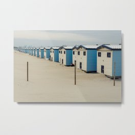 The Hague by the Sea Metal Print
