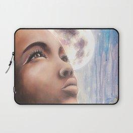 The Moon - Tarot Card Art Laptop Sleeve