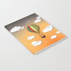 Balloon Aeronautics Dawn Notebook