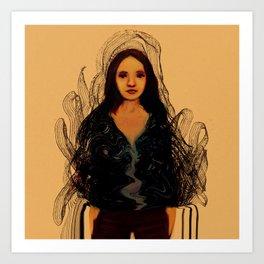 Ink mood Art Print