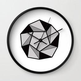 Geometric Shapes 2. Prism Wall Clock