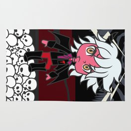 the Prince of Darkness Rug
