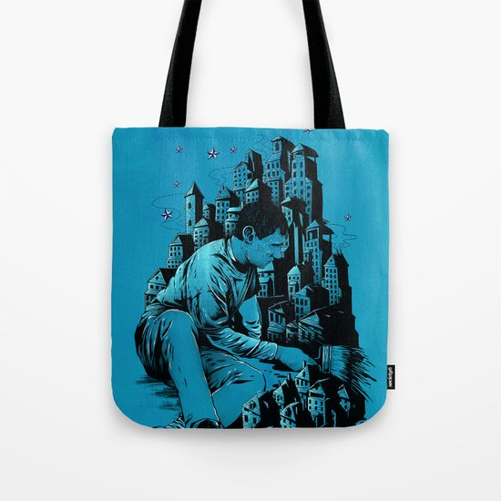 The Village Painter Tote Bag