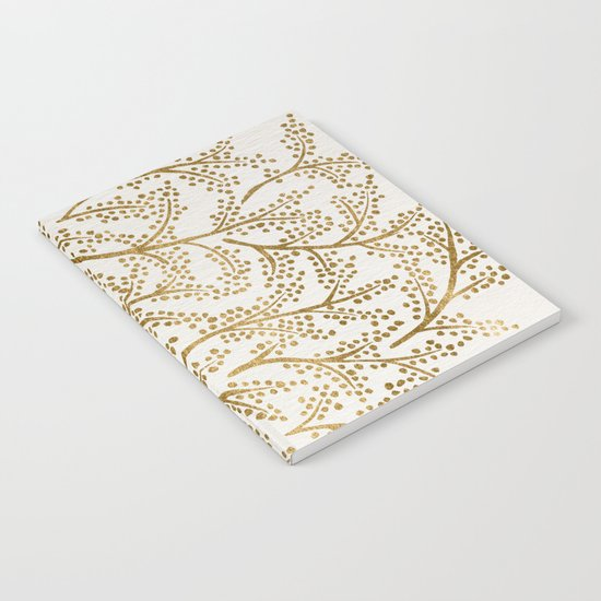 Gold Branches Notebook