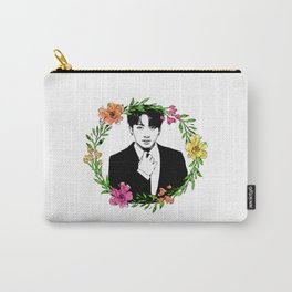 Jungkook & Flowers Carry-All Pouch