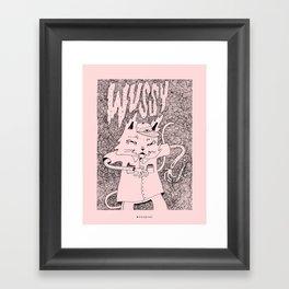 WVSSYCAT Framed Art Print