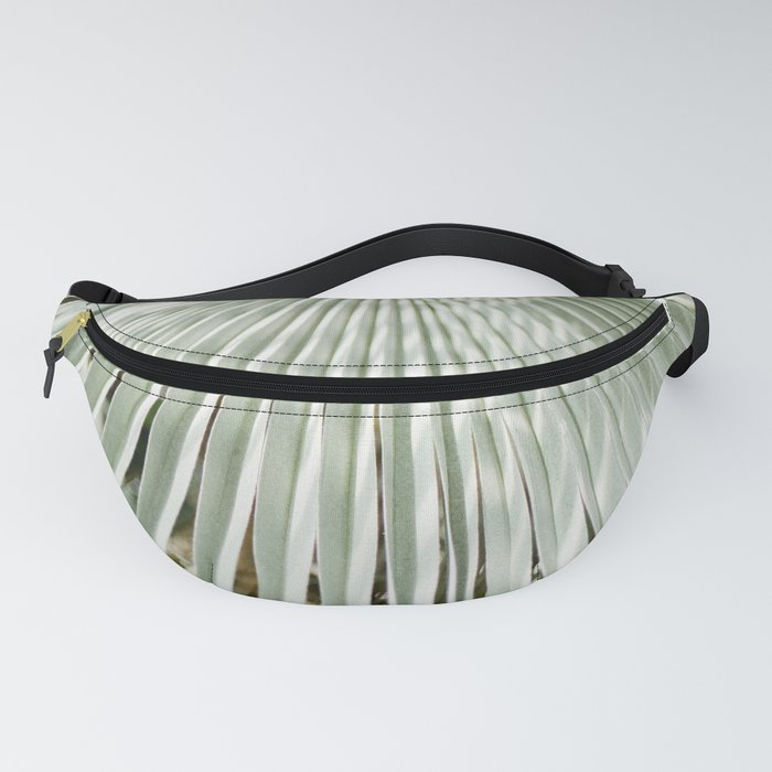 Botanical garden close up | Palm leaf detail | Fine art photography print Fanny Pack