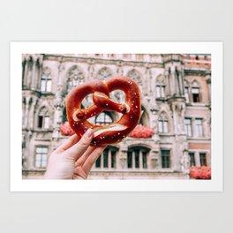 Tie the Knot | Munich, Germany Art Print