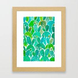 Cactus Practice Framed Art Print