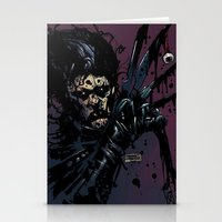 eddie vedder Stationery Cards featuring EVIL EDDIE by Stefano Cardoselli