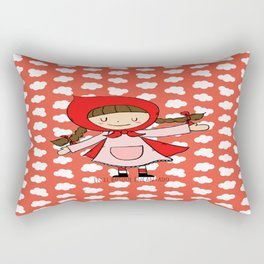 Caperucita Roja Rectangular Pillow