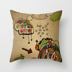 Just Love! Throw Pillow