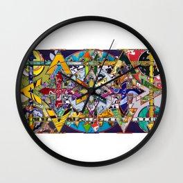 16-9f Wall Clock