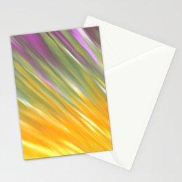 Golden Aurora Stationery Cards