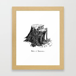 Birth of Pinocchio Framed Art Print