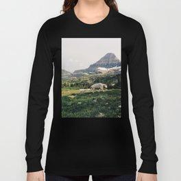 Montana Mountain Goat Family Long Sleeve T-shirt