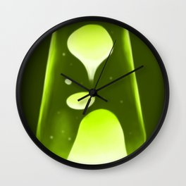 Green and Groovy Wall Clock
