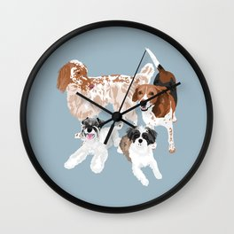 Barclay, Rhett, Ozzie and Gus Wall Clock