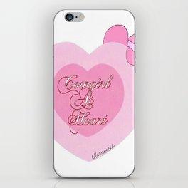 """""""Cowgirl At Heart II"""" iPhone Skin"""