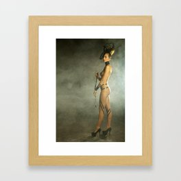 Woman Model Framed Art Print