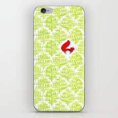 Damask forest pattern iPhone & iPod Skin