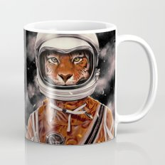 Tiger Astronaut Mug