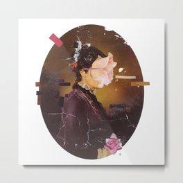 Phases- Surreal portrait Metal Print
