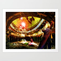 The Flower Girl - Final Fantasy VII Art Print