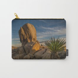 Joshua Tree Rock Formation Carry-All Pouch