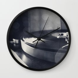 from time to time i like listening to an old record Wall Clock